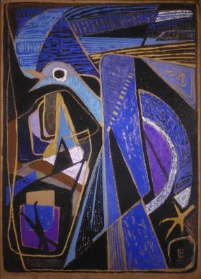 Galina Sevruk. Blue bird