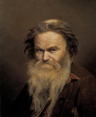 Vasily Grigorievich Perov. Fomushka-owl