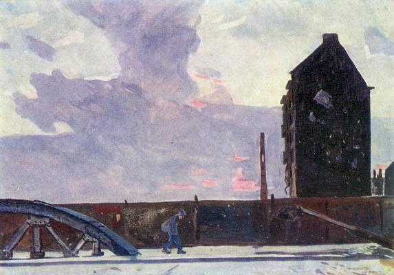 Alexander Alexandrovich Deineka. Berlin. Ring road