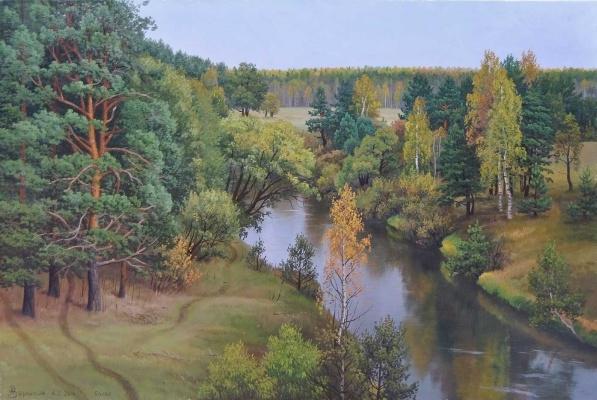 Alexander Vasilyevich Zoryukov. Bolva autumn sadness