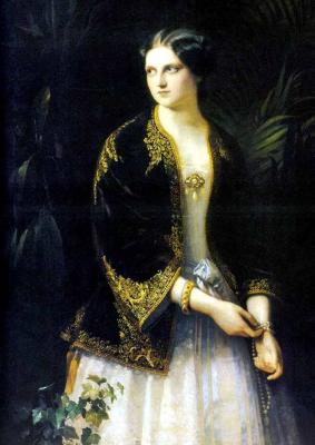 Portrait of Grand Duchess Catherine Mikhailovna.