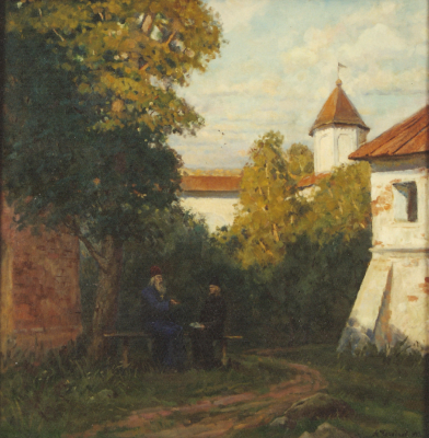 Aleksandr Chagadaev. In the monastery
