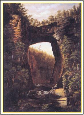 Дж К Эллис. Природный мост