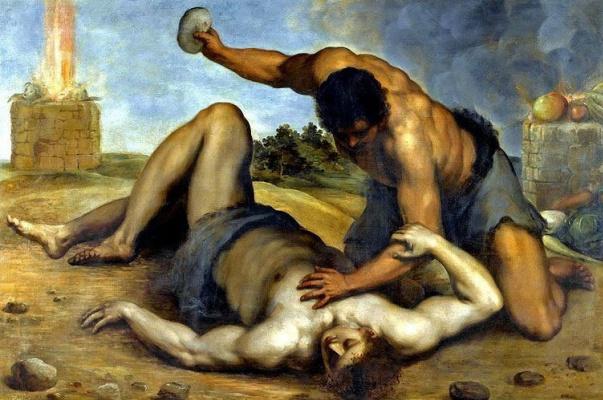 Джакомо Пальма Младший. Каин убивает Авеля