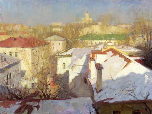 Alexander Evgenievich Kosnichev. The Spring Moscow