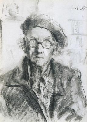 Сергей Федорович Шишко. Автопортрет