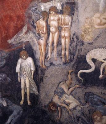 Giotto di Bondone. Judgment. Fragment 17