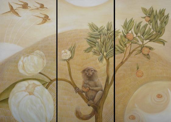 Ira Zaitseva. Triptych