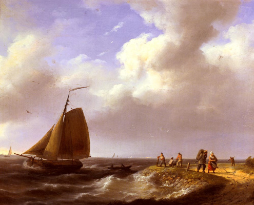 Йоханнес Херманус Куккук. Свежий бриз голландского побережья