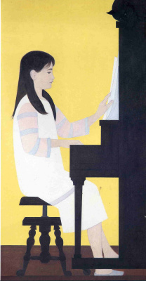 Will Barnet. Young girl