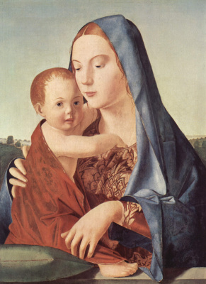 Antonello da Messina. Madonna