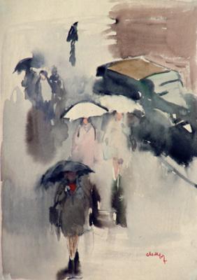 Мария Владимировна Мыслина. Дождь