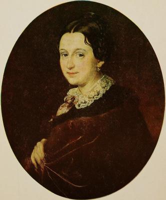 Vasily Andreevich Tropinin. Portrait Of Barbara Dmitrievna Voeikov