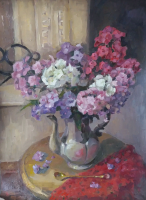 Лариса Михайловна Костылева-Тамсон (Прокопьева). Still Life with Phlox