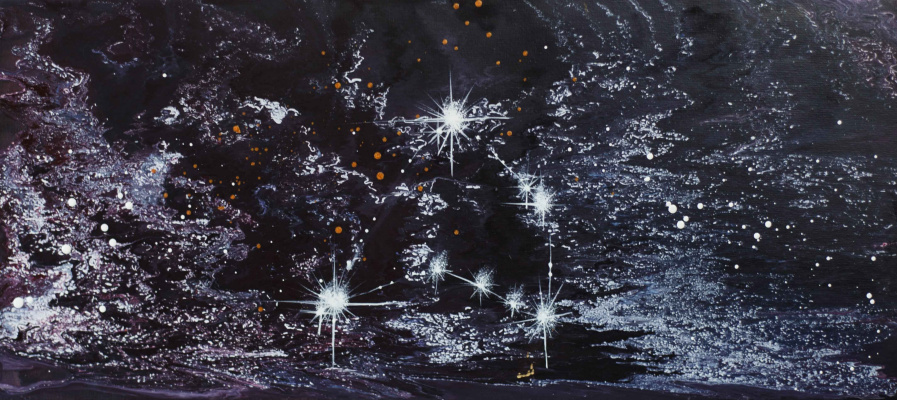 "Alla Struchayeva. Painting ""Capricorn"""
