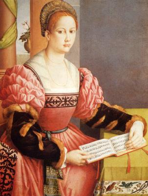 Франческо Убертини. Портрет леди
