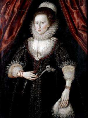 William Larkin. Portrait of a lady