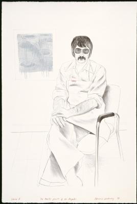Дэвид Хокни. Автопортрет