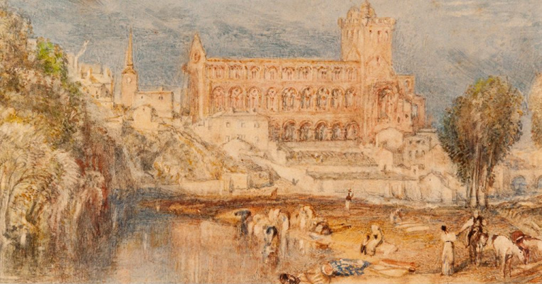 Joseph Mallord William Turner. Jedburgh Abbey