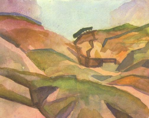 August Macke. Gorge