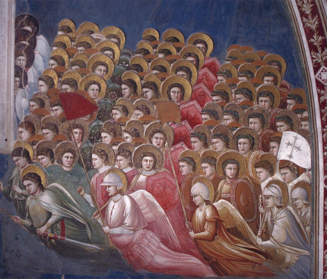 Giotto di Bondone. Judgment. Fragment 8