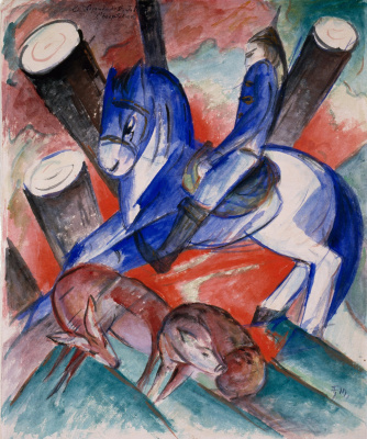 Franz Marc. St. Julian The Hospitaller