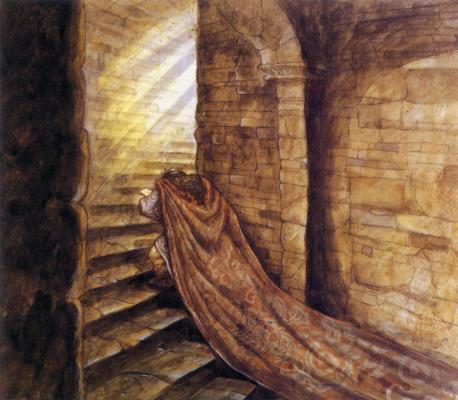 Питер де Сев. Длинная лестница