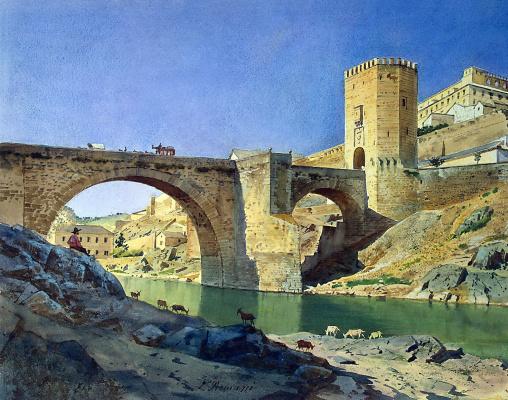 Луиджи Премацци. Мост в Алькантаре