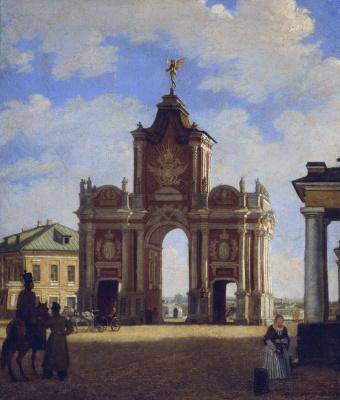 Карл-Фридрих Петрович Бодри Россия 1812 - 1894. Red Gate Square