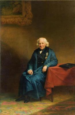 George Dow. Portrait of Nikolai Semenovich Mordvinov