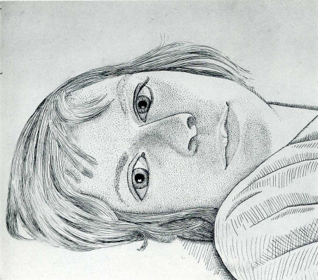 Lucien Freud. Girl