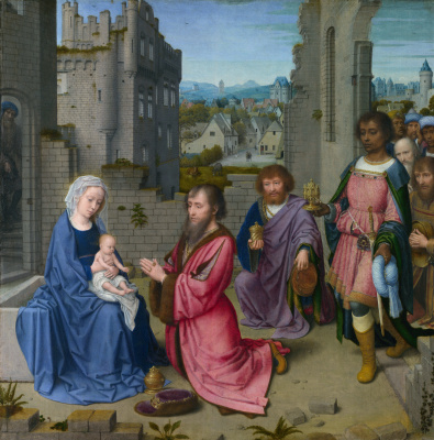 David Gerard. The adoration of the Magi