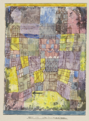 Paul Klee. Old City Architecture