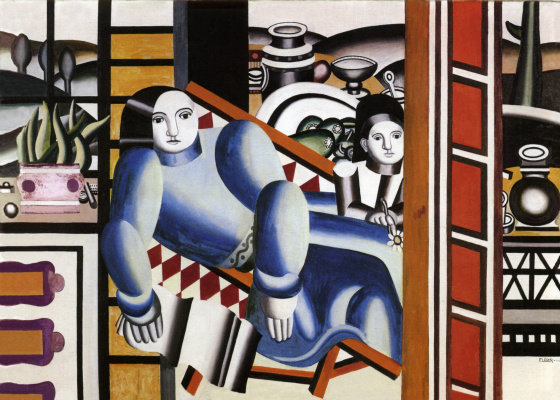 Fernand Leger. Mother and child