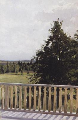 Valentin Aleksandrovich Serov. Balcony