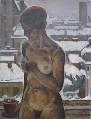 Виктор Петрович Жураковский. У окна.