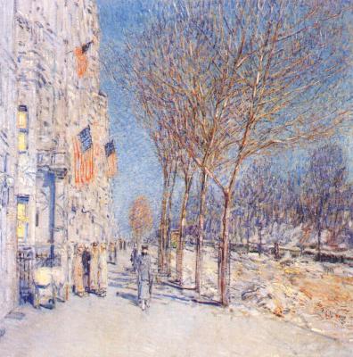 Childe Gassam. New York landscape