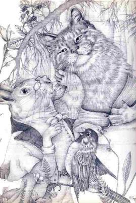 Адриенн Сегур. Масло в уши коту