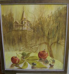 """Nadezhda Konstantinovna Kostritskaya. """"House in the forest"""""""