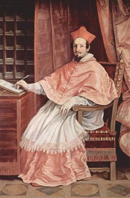Guido Reni. Portrait of cardinal Bernardino Spada