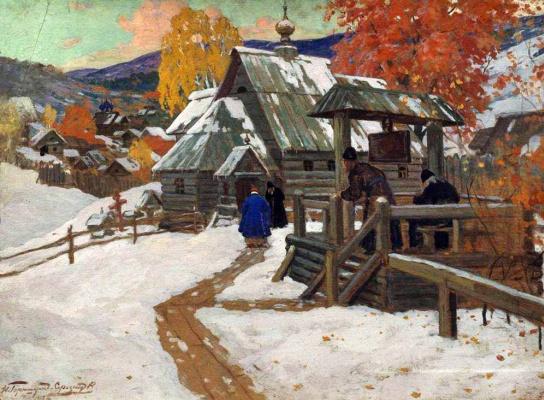 Ivan Goryushkin-Sorokopudov. Ivan Goriushkin-Sorokopudov. Skit. 1912