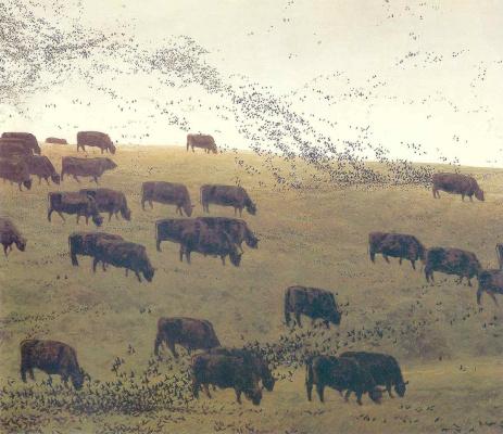 Jamie Wyeth. Birds of the flock