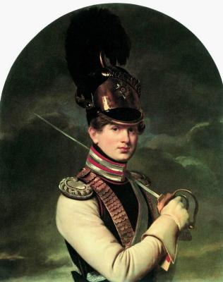 Orest Adamovich Kiprensky. Portrait of Prince N. P. Trubetskoy