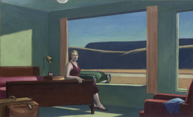 Edward Hopper. Western Motel