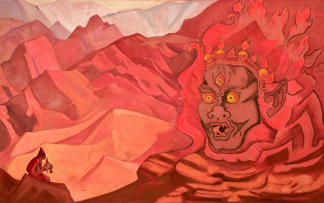 Nicholas Roerich. Dorje dared