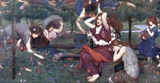 John William Waterhouse. Flora and Marshmallows