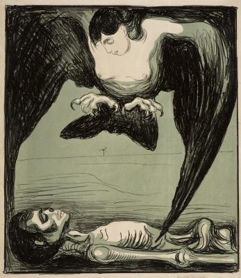 Edvard Munch. Harpy