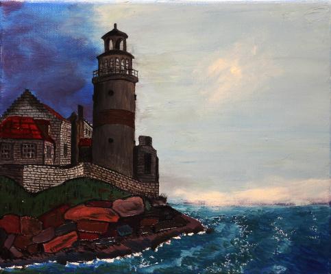 Vladimir Adamovich Ropot. Storm of darkness