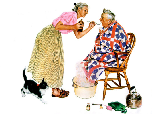 Norman Rockwell. Treatment