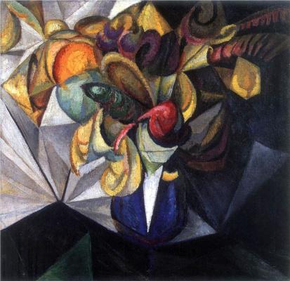 Александр Константинович Богомазов. Натюрморт с цветами